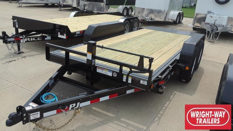 2020 PJ Trailers 16' EQUIPMENT TILT Equipment Trailer