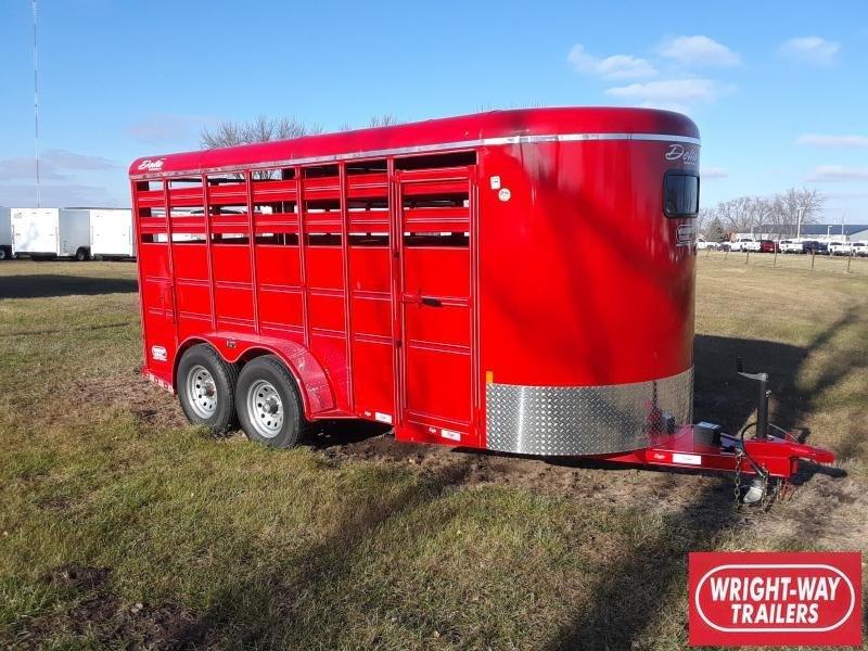 Delta Livestock Stock Trailer 16'