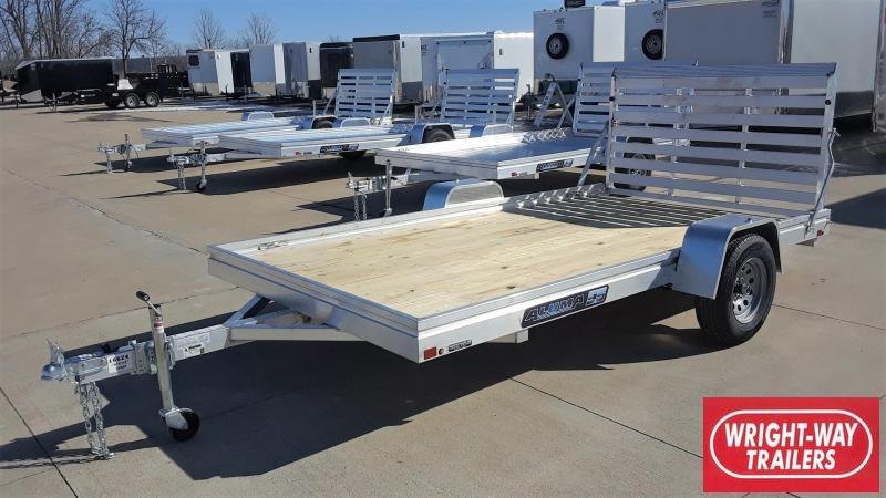 Aluma 7812ESW 12' Aluminum Utility Trailer