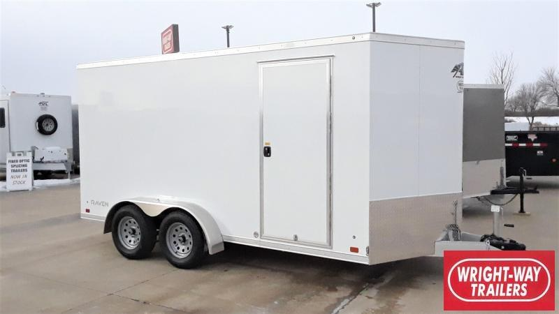 ATC 7X14 Aluminum Enclosed Cargo Trailer