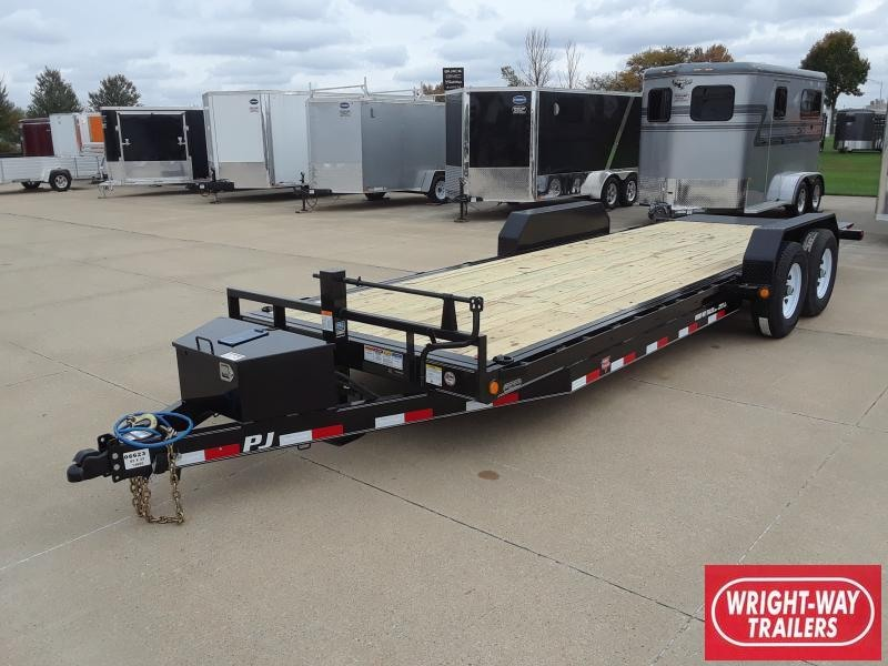 2019 PJ Trailers 22' FULL POWERED TILT Equipment Trailer