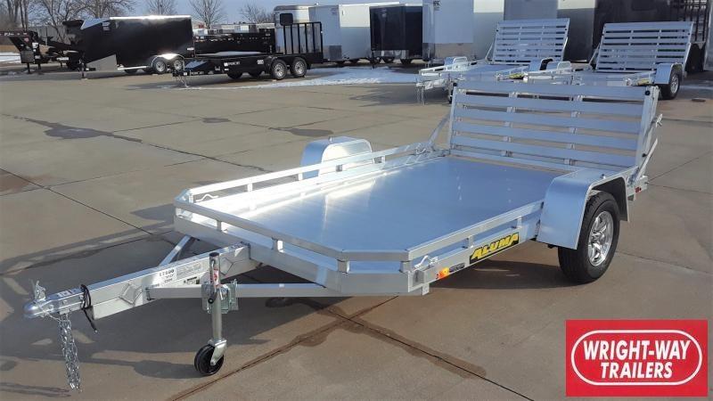 Aluma 7710 10' Aluminum Utility Trailer