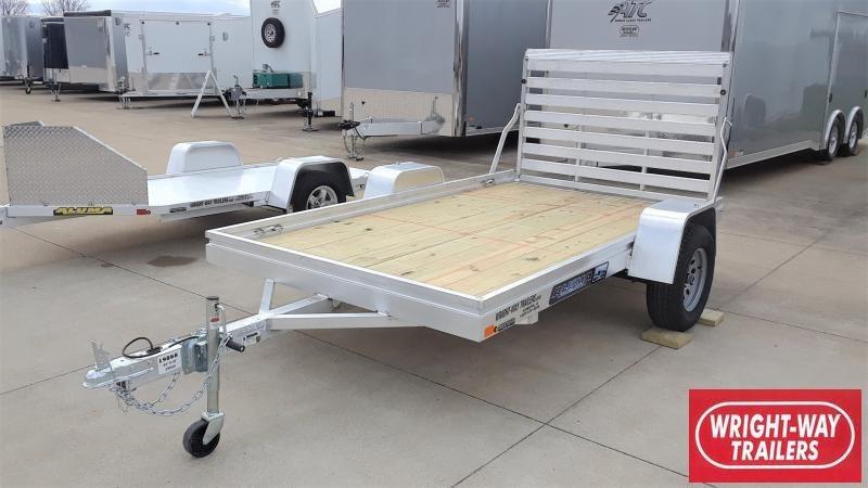 2021 Aluma 68 X 10 WOOD FLOOR Utility Trailer