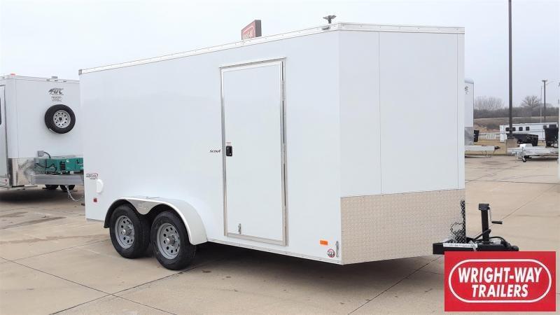 Bravo Trailers 7X14 Enclosed Cargo Trailer