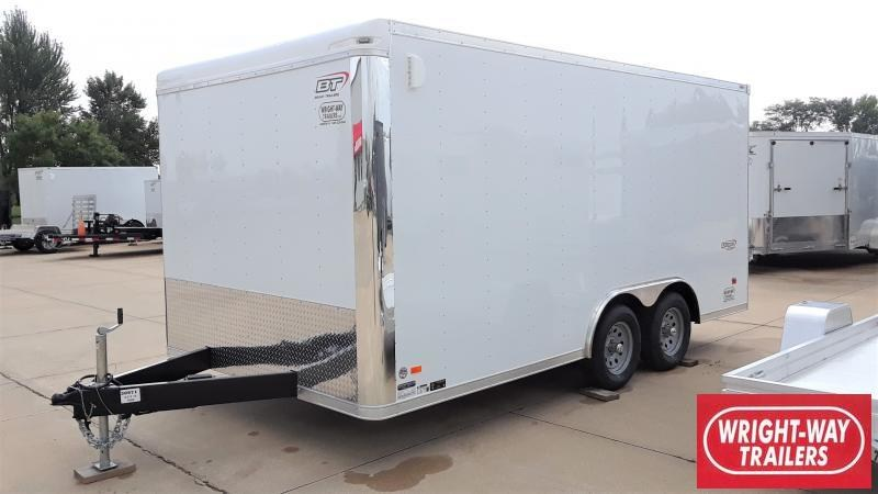 2020 Bravo Trailers 8.5 x16 ENCLOSED CARGO Enclosed Cargo Trailer