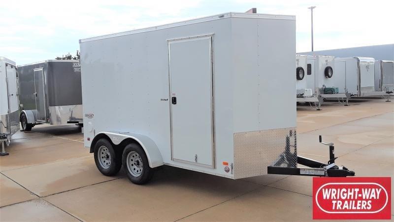 2020 Bravo Trailers 6x12 TANDEM CARGO Enclosed Cargo Trailer