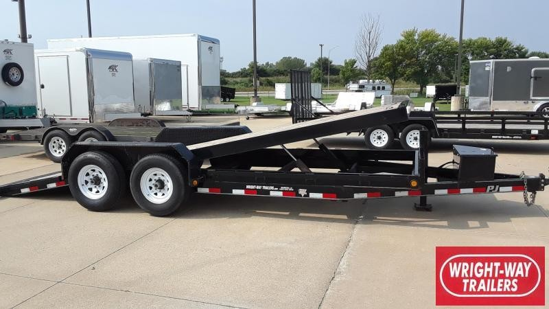2012 PJ 20' Tilt Equipment Trailer