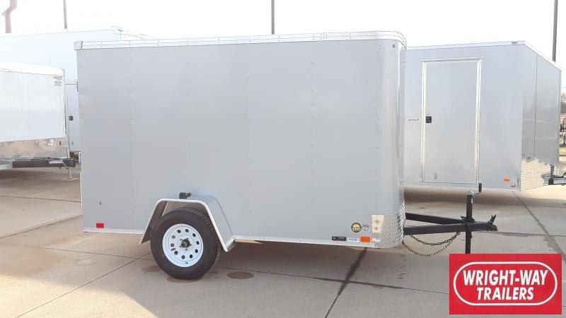 2020 United Trailers 6X10 FLAT FRONT CARGO Enclosed Cargo Trailer