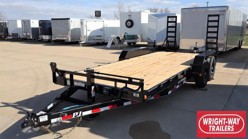 "2020 PJ Trailers 20' X 6"" CHANNEL CUSTOM CARHAULER Equipment Trailer"