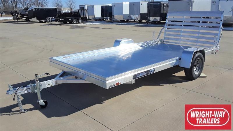 Aluma 7814ES-A 14' Aluminum Utility Trailer