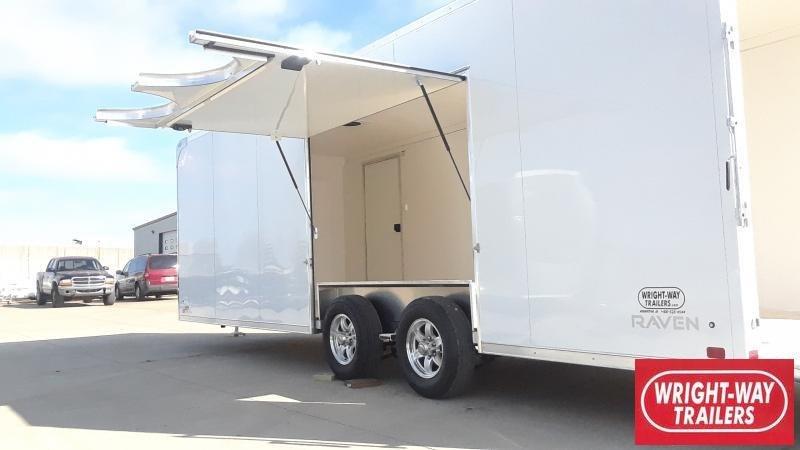 2020 ATC 8.5x24 RAVEN Car / Racing Trailer