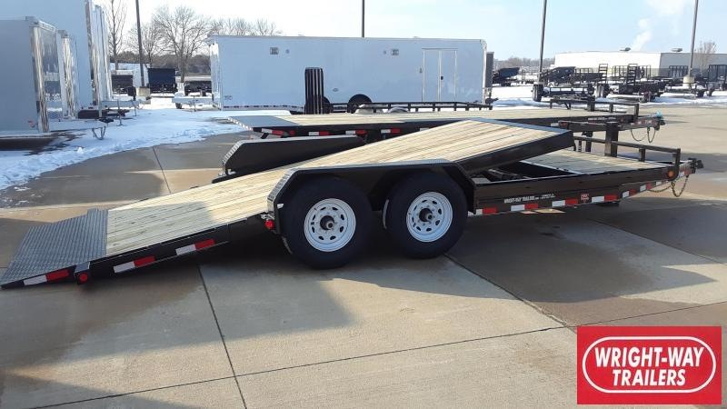 PJ Trailers 20' Tilt Equipment Trailer