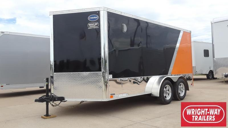 2020 United 7X14 Motorcycle Trailer