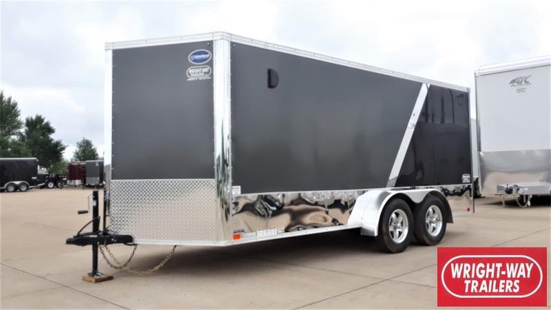 2020 United Trailers ENCLOSED MOTORCYCLE TRAILER Motorcycle Trailer