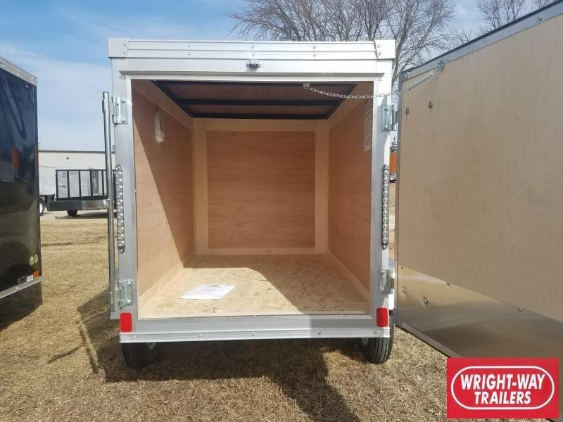 2018 United Trailers 4X6 Enclosed Cargo Trailer