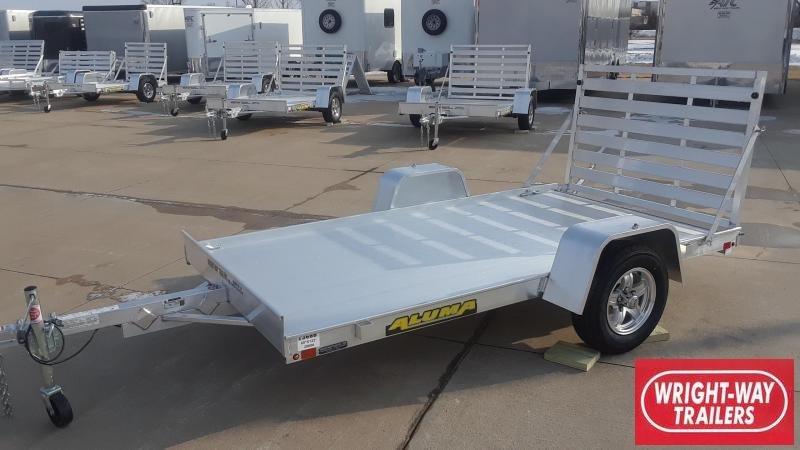 Aluma 6310 10' Aluminum Utility Trailer