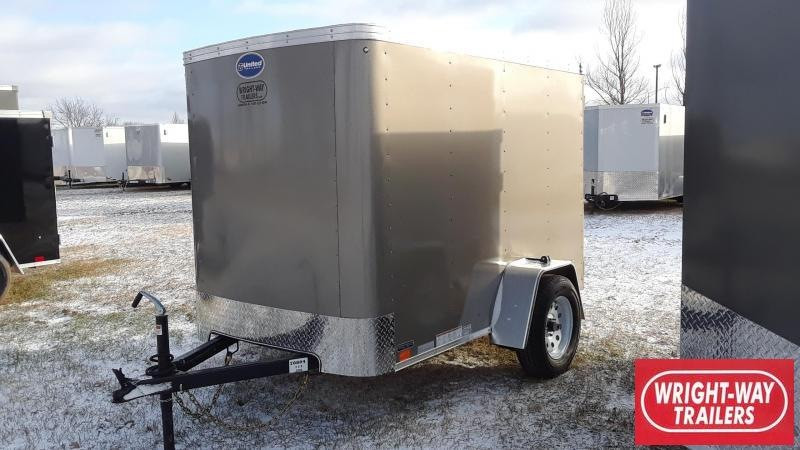 United Trailers 5X8 Enclosed Cargo Trailer