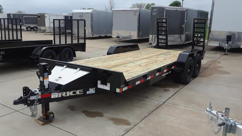2020 Rice MAGNUM EQUIPMENT 18+2 Equipment Trailer