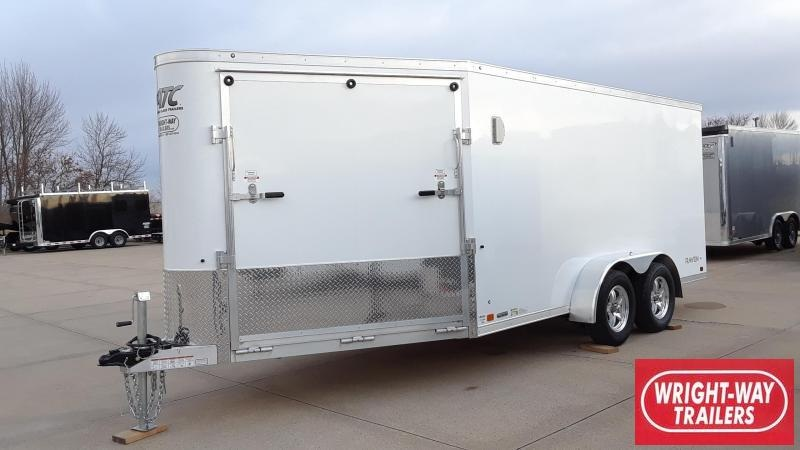 ATC 7X14 +6 Aluminum Snowmobile Trailer