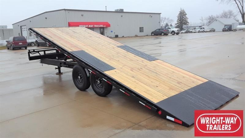PJ Trailers 22' Tilt Equipment Trailer