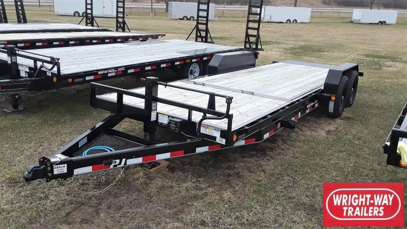 2020 PJ Trailers 22FT EQ1UIPMENT TILT Equipment Trailer