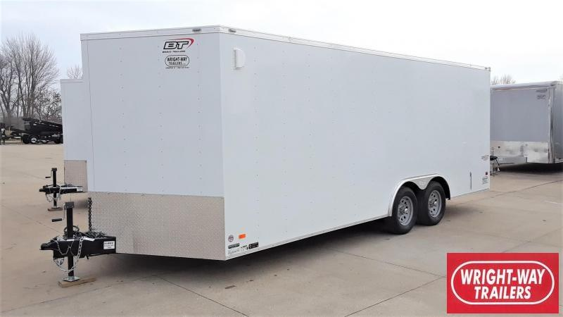 Bravo 85X20 Enclosed Cargo Trailer