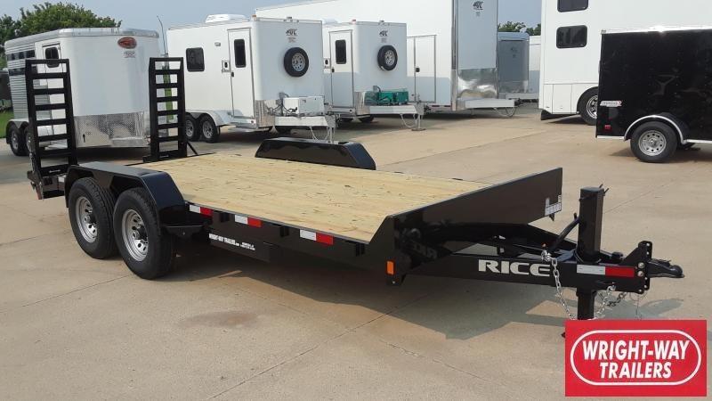 2020 Rice 18' Equipment Trailer