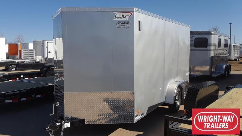 2020 Bravo 7X14 V Nose Enclosed Cargo Trailer
