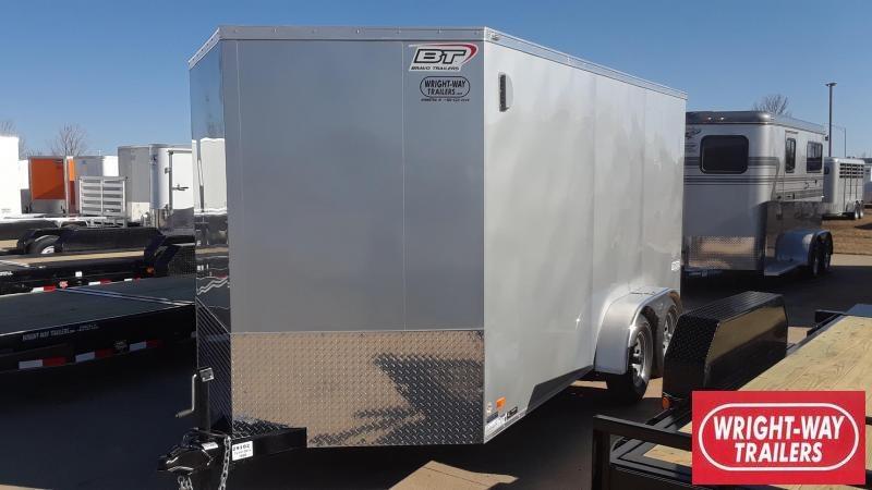 2020 Bravo 7X14 V Nose Enclosed Cargo Trailer