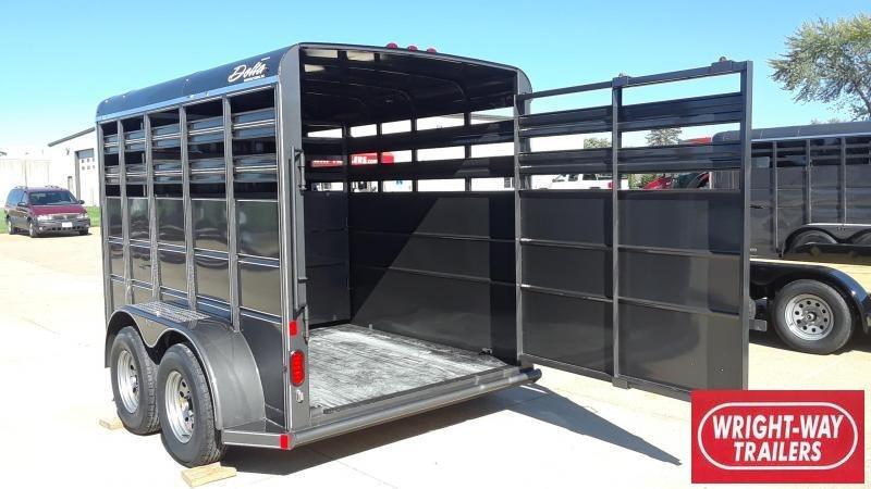 Delta 12' Livestock Stock Trailer