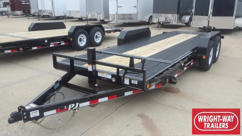 2020 PJ Trailers 20' CHANNEL EQUIPMENT TILT Equipment Trailer