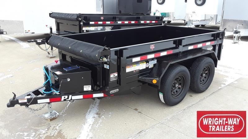 2020 PJ Trailers 5X10 TANDEM AXLE DUMP Dump