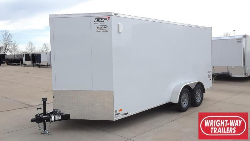 Bravo 7X16 Enclosed Cargo Trailer