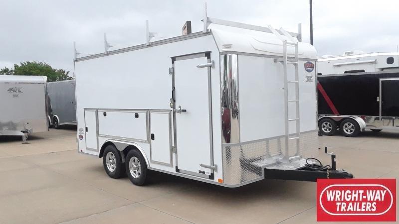 2021 United Trailers ENCLOSED FLAT TOP Enclosed Cargo Trailer