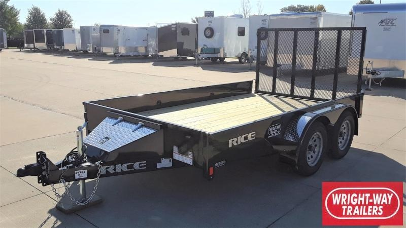 Rice 12' Utility Trailer