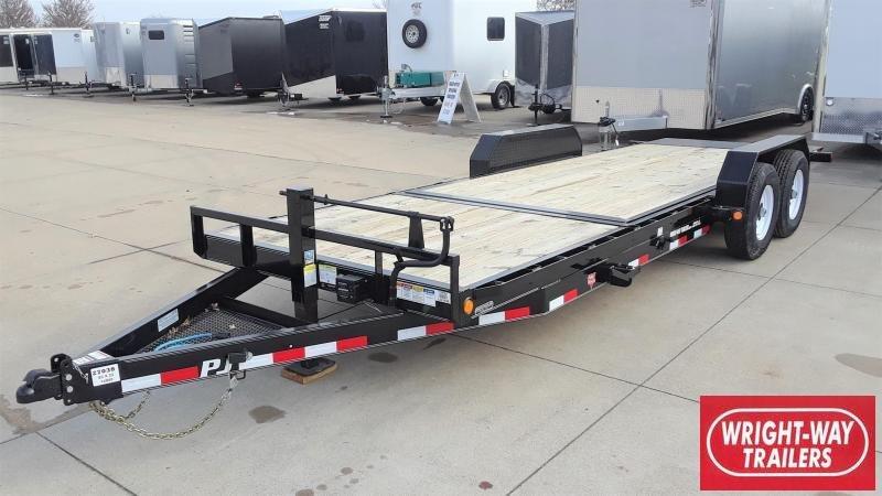 PJ Trailers 22' Tilt Equipment Trailer