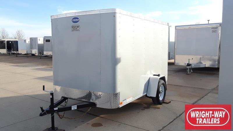 United 6X10 Enclosed Cargo Trailer