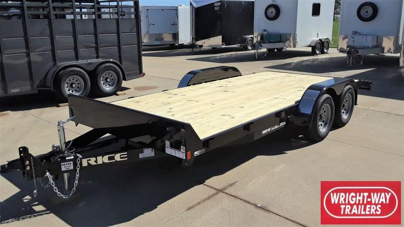 2020 Rice CAR HAULER 16+2 Car / Racing Trailer