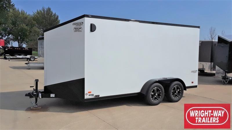 Bravo 7X14 Enclosed Blackout Cargo Trailer