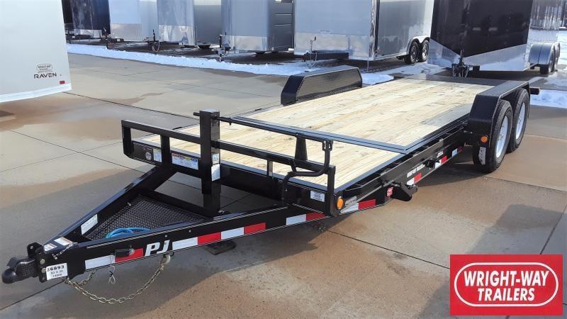 2020 PJ Trailers 20' CHANNEL EQUIPMENT TILT Equipment Trailer