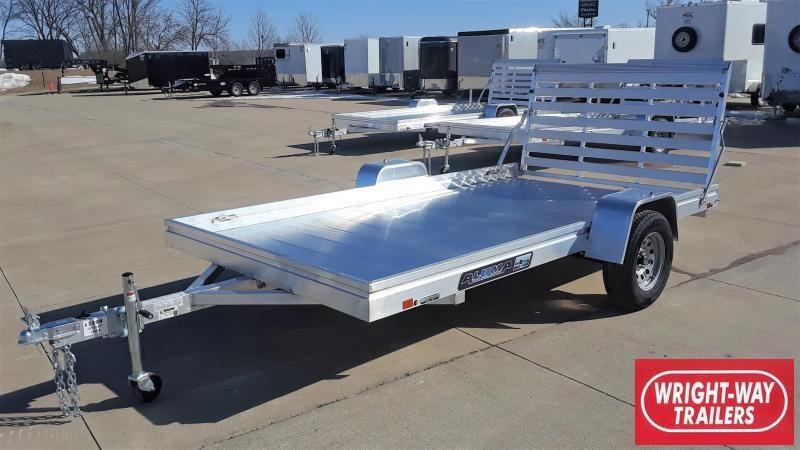 Aluma 7812ES 12' Aluminum Utility Trailer