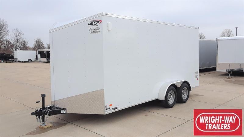 Bravo 7X16 Enclosed Cargo Trailer