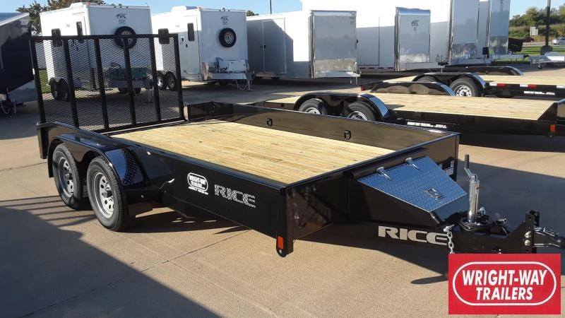 Rice 14' Utility Trailer