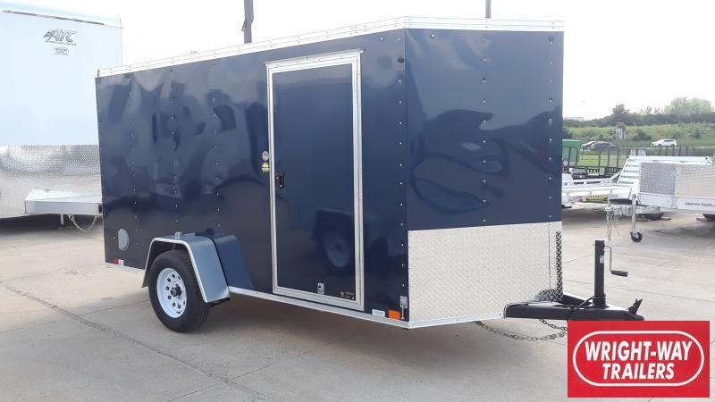 2020 United Trailers 6 X 12 V NOSE CARGO Enclosed Cargo Trailer