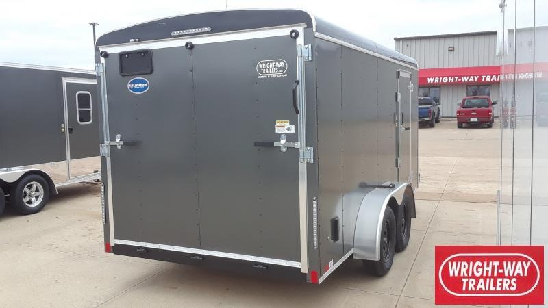 2019 United Trailers 7X14 ROUND FRONT Enclosed Cargo Trailer
