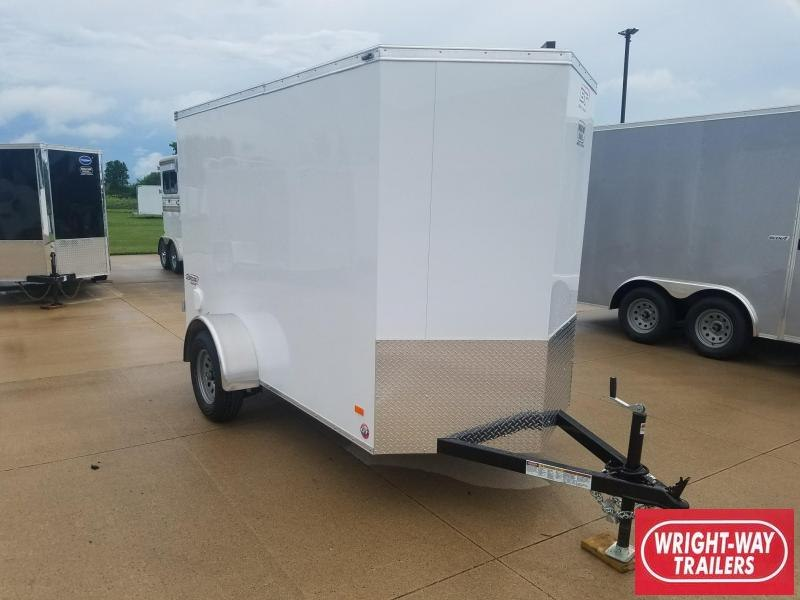 2019 Bravo V Nose 5X10 Enclosed Cargo Trailer
