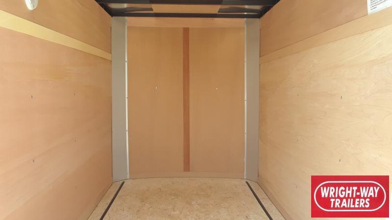 2020 United Trailers 5X8 FLAT FRONT CARGO Enclosed Cargo Trailer