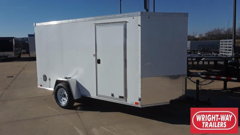 2019 United 6X12 V Nose Enclosed Cargo Trailer