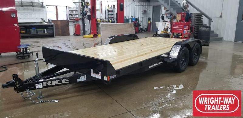 Rice 18' Car / Racing Hauler Trailer