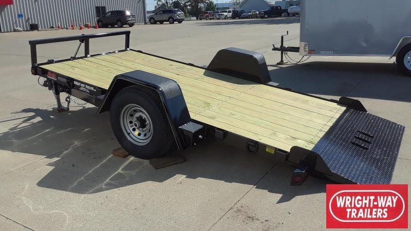 2019 Behnke 6X12 Tilt Utility Equipment Trailer